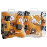 Bantal Mobil Paket Hemat - Motif Brown & Cony