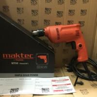 Mesin Bor Besi Kayu Tangan 10mm Maktec MT60