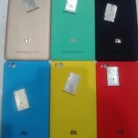 Back cover xiaomi mi4i + Sim Tray ( backdoor casing tutup belakang )