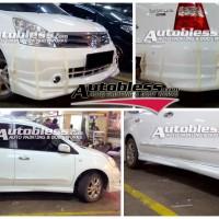 Bodykit Nissan All New Grand Livina Impul2 2008 - Plastic ABS