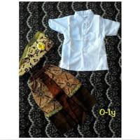 baju adat bali anak laki 0-1th