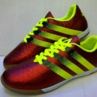 sepatu futsal adidas ace maroon hijau stabilo vietnam 39-43