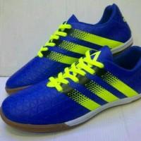 sepatu futsal adidas ace biru hijau stabilo vietnam 39-43