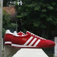 Adidas Dragon Red strip White