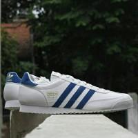 Adidas Dragon White strip Blue