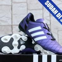 sepatu bola Adidas 11Pro Hitam Ungu KW Super (terbaru,termurah,2016)