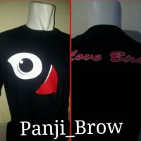 kaos/baju/T-shirt/oblong LOVEBIRD MANIA KEREN
