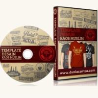 Template Original Desain Kaos Muslim Indonesia Vol.1