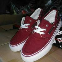 sepatu vans zapato merah grade original