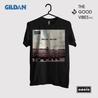 Kaos Band Oasis Original Gildan - Time Flies