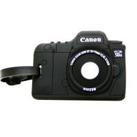 Label Koper Bentuk Kamera Canon Camera Luggage tag