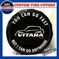 Cover Ban atau Sarung Ban Mobil Suzuki Grand Vitara Design Go Fast