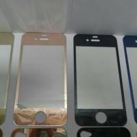 Anti Gores Kaca / Tempered Glass 3D Diamond Full Set Iphone 5 / 5S