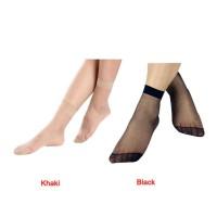 Thin transparent lace socks / cotton socks / kaos kaki tipis