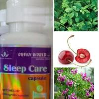 Sleep Care Capsule green world ORIGINAL / ORI / ASLI