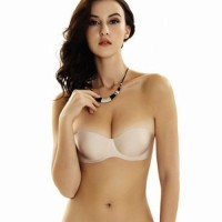 Backless Strapless Bra Nude