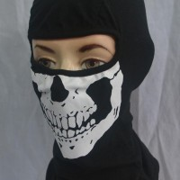 masker tengkorak / balaclava skull