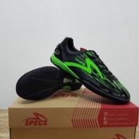 Sepatu Futsal Specs Accelerator Lightspeed Black Opal Green