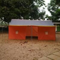 Tenda Pramuka Posko kap 16 siswa/14 dewasa bahan waterproof