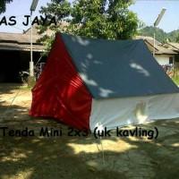 Tenda Pramuka kap 6 siswa/4 dewasa bahan dakota