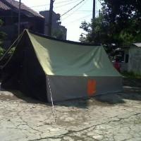 Tenda Pramuka Regu kap 10 siswa/ 8 dewasa bahan dakota