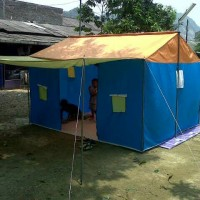 Tenda Pramuka Posko Regu kap 12 siswa/ 10 dewasa bahan waterproof