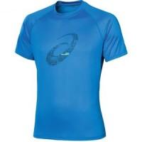 Asics Baselayer Graphic SS Pakaian Olahraga Pria Running Jersey Kostum