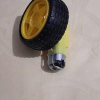 DC gear motor wheel tyre ban smart car robot arduino