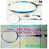 Raket Badminton Apacs Sensuous 222 Agility ! 100% Original Apacs