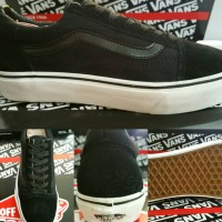 Sepatu Skate Vans Oldskool Classics Black Dope