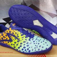 Sepatu Futsal Specs El Cheeta Blue Orange Original (specs,asli,new)