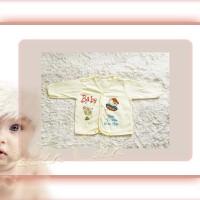 Baju Bayi-New Born-Katun Premium-Lengan Panjang Bis-Anna Baby