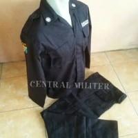 seragam security/baju security/seragam satpam/pdl security