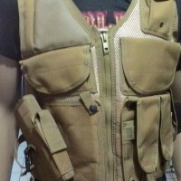 Vest Army Tactical Cobat, Airsoft, Paintball, Militer Equipment, Rider