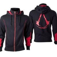 Jaket Assasin Creed Black & Red