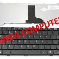 Keyboard Laptop Toshiba Satellite C600 C640 - Hitam
