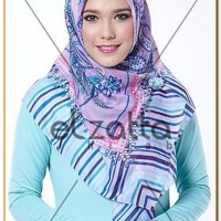 Baju Muslim Elzatta Kerudung Kaila Lantha ORIGINAL MS-594