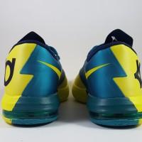 Sepatu Basket Nike KD 6 Yellow Blue