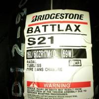 Ban Belakang Bridgestone Battlax 160/60-17 S21 HyperSport Tubeless