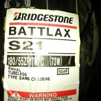 Ban Belakang Bridgestone Battlax 180/55-17 S21 HyperSport Rear Motor