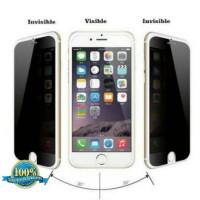 Anti Gores Kaca Spy Hitam Tempered Glass Iphone 6 plus / 6s Plus