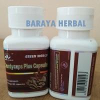 Obat Herbal Batuk Berdarah   COrdyceps Plus Capsule Green World