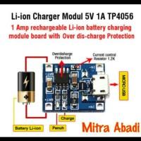 Kit Power Bank Li-ion Charger Modul 5V 1A TP4056