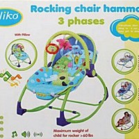 PLIKO Rocking Chair Hammock 3 phases (Baby Bouncher)