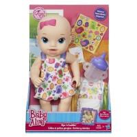 Baby Alive Sips n Cuddles / Boneka baju putih
