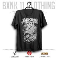Kaos Band Distro Asking Alexandria #4 Hitam ( Musik Rock )
