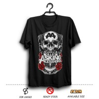 Kaos Band Distro Asking Alexandria #6 Hitam (Musik Rock Wfcloth