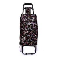 Tas Trolley Belanja Fashion Lipat Praktis Roda 2