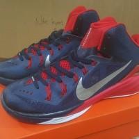 Sepatu Basket Nike Hyperdunk 14 USA Biru Dongker Merah - Deep Blue Red