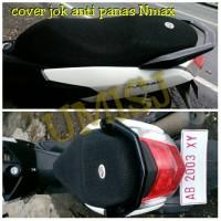 cover jok motor anti panas khusus yamaha nmax bikin isis saat naik mtr